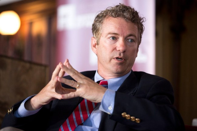 Sen. Rand Paul, R-Ky., speaks during an event at the University of Chicago's Ida Noyes Hall in Chicago on Tuesday, April 22, 2014. (AP Photo/Andrew A. Nelles) ORG XMIT: ILAN114