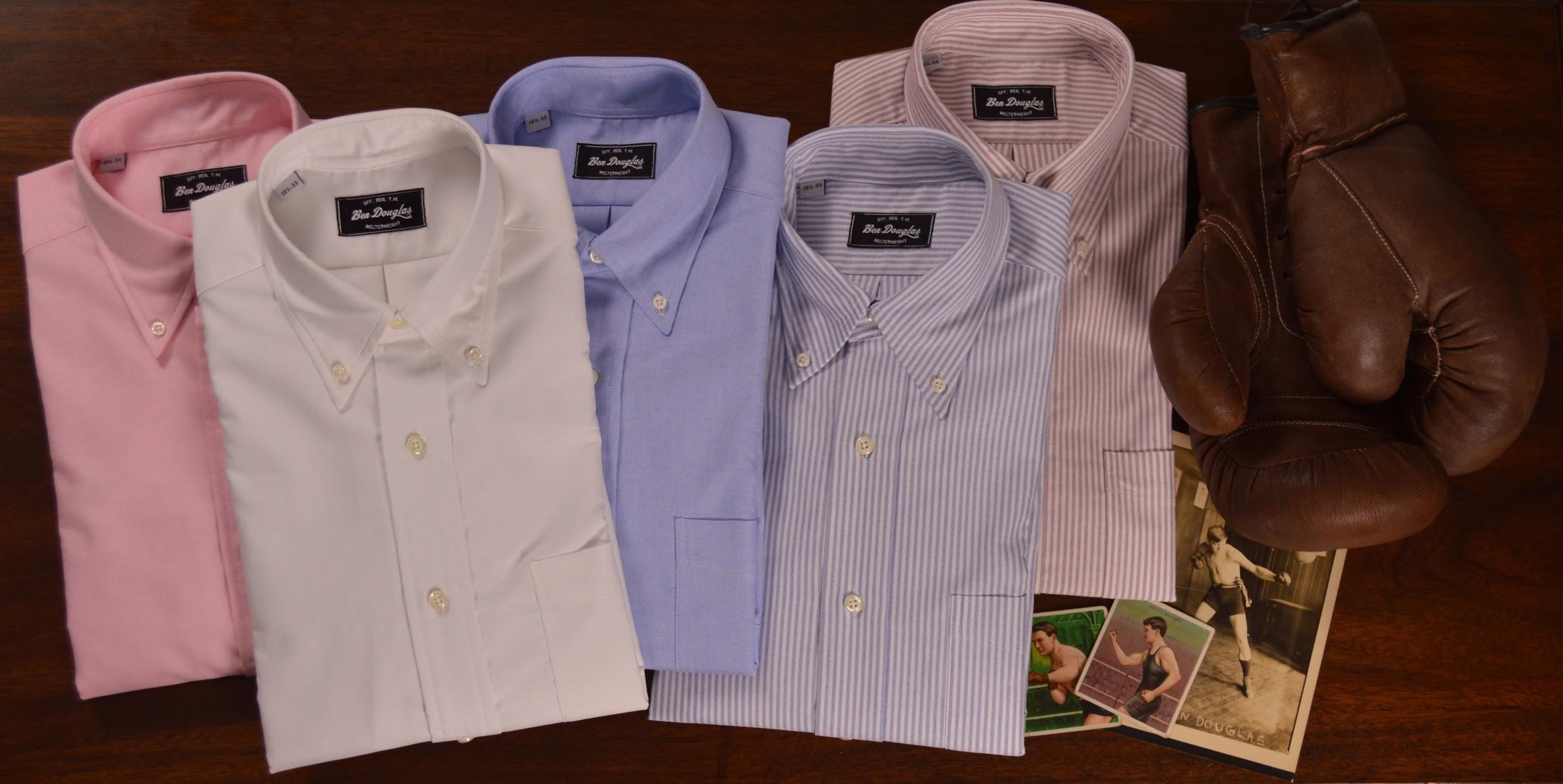 Ben Douglas Kickstarter Campaign And The Return Of The Detachable Collar