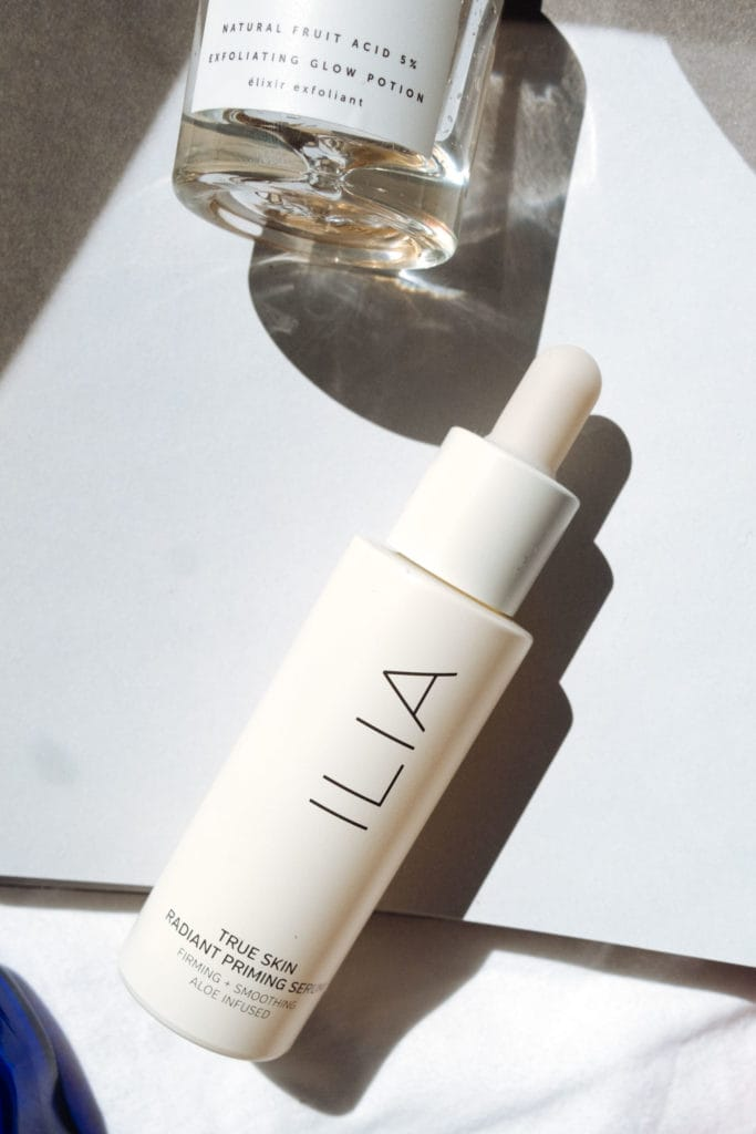 My natural cosmetics favorites |  Care products # 01 2019 |  ILIA Beauty - True Skin Radiant Priming Serum |  Light it up