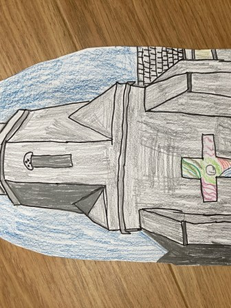 THIS IS AN IMAGE OF CHURCH CREATED BY TOBY PHILLIPS