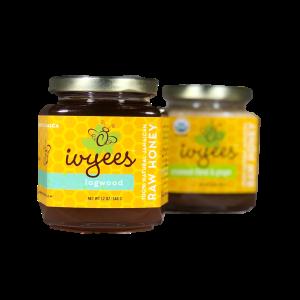 Logwood and Creamed Floral & Ginger Raw Honey Bundle