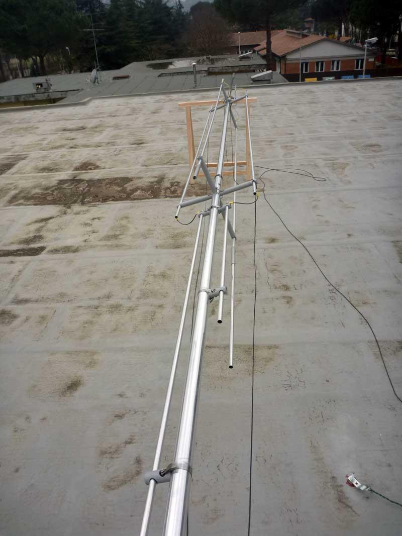 Assembling Gap Titan Dx Antenna - Iw5edi Simone