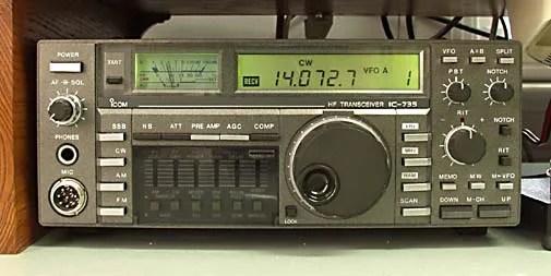 Icom IC 735