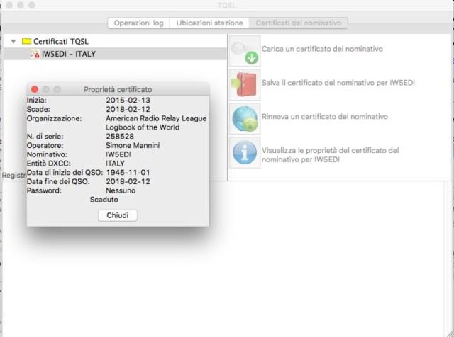 TQSL Certificate