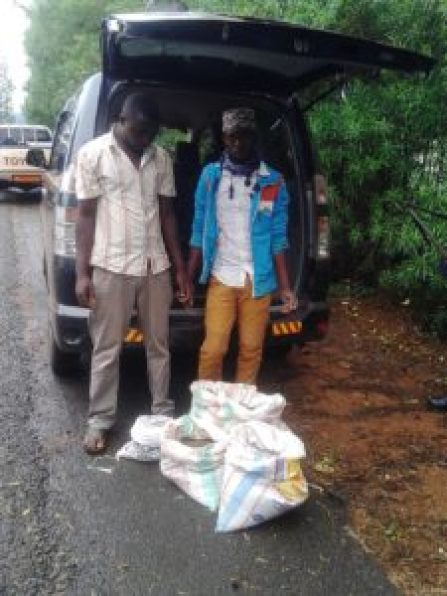 Illegal coltan and cassiterite traffickers arrested in Kirundo as they attempted to smuggle the minerals to Rwanda.