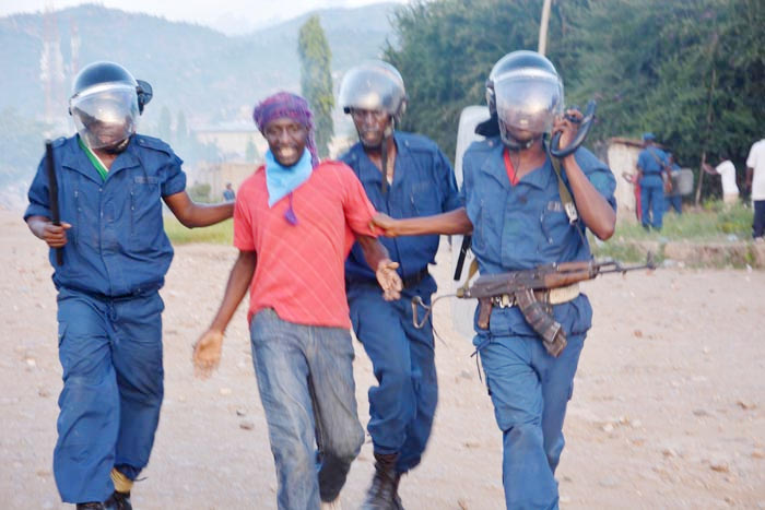 Le militant Rachid arrêté puis conduit au « service national de renseignements ». Il est porté disparu, selon l'Aprodh ©Iwacu