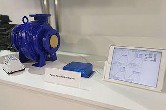 横河電機株式会社様のブース マグネットポンプとポンププロテクタ
