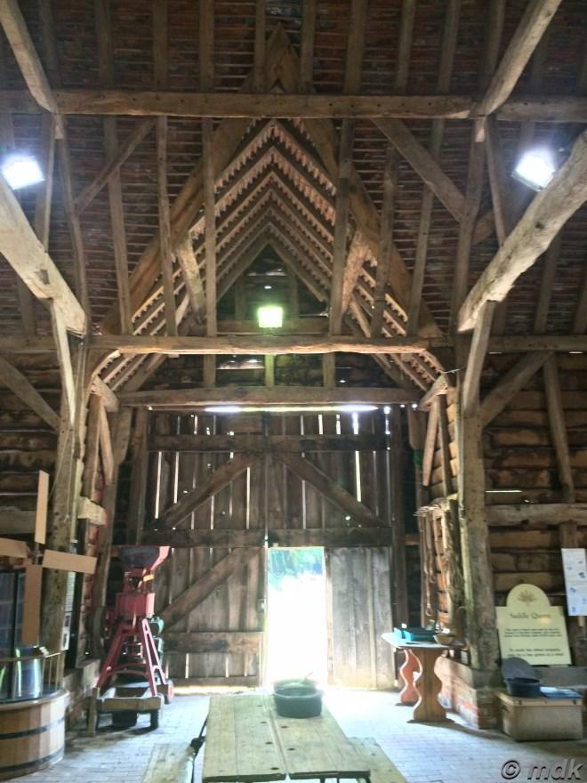 Inside Chineham Barn again