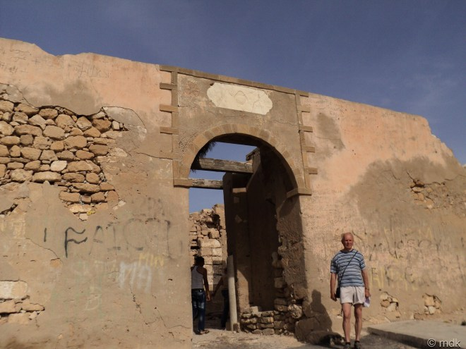 The gate to the Kasbah, Agadir