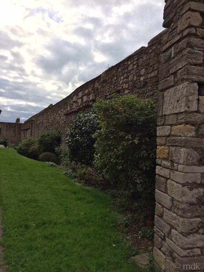 A very ancient garden wall