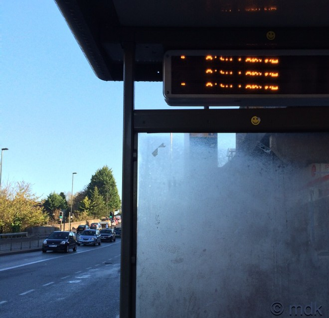 Bus stop number one