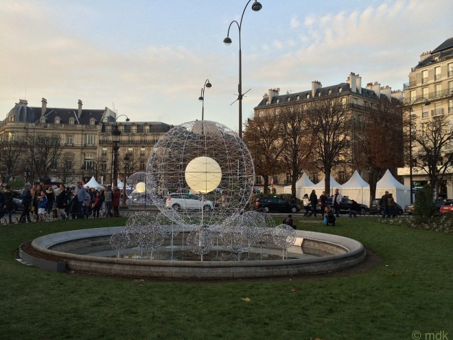 The Rond Point fountain