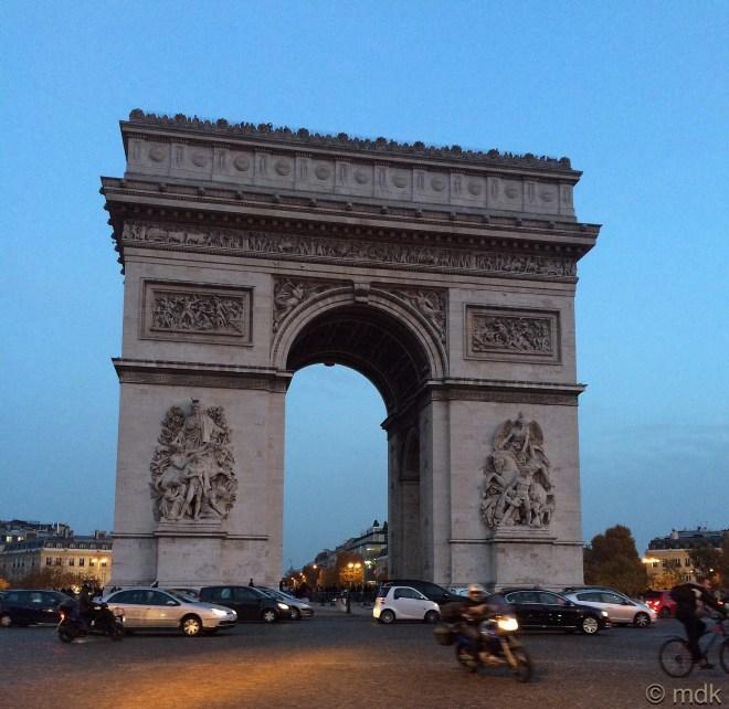 Place de l'Étoile, renamed Place Charles de Gaulle