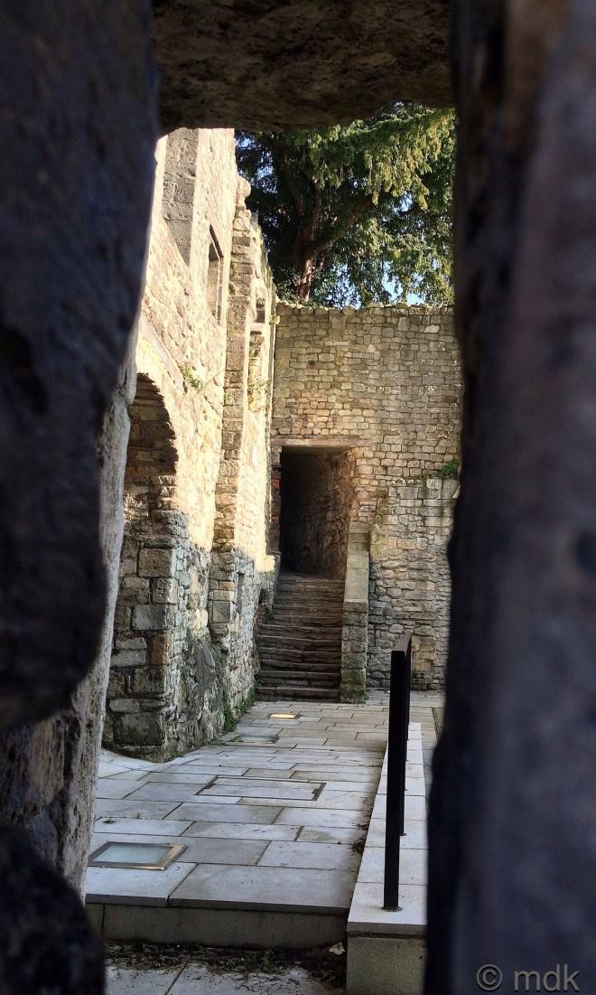 Peeking at King John's Palace