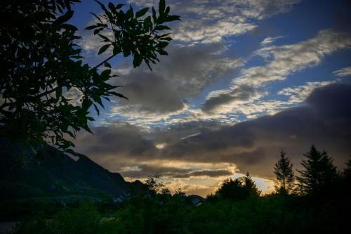 Sunrise in Sørvågen