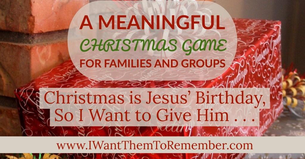 Christmas game fb