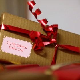 Valentine's gift of salvation