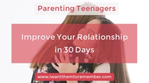 Parenting teenagers resource