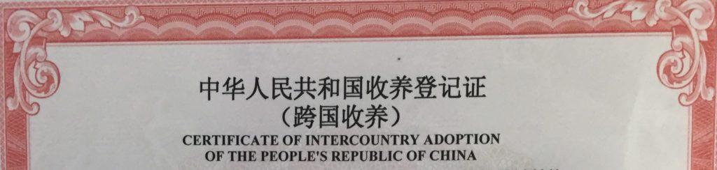 China's New Adoption Rules Decree