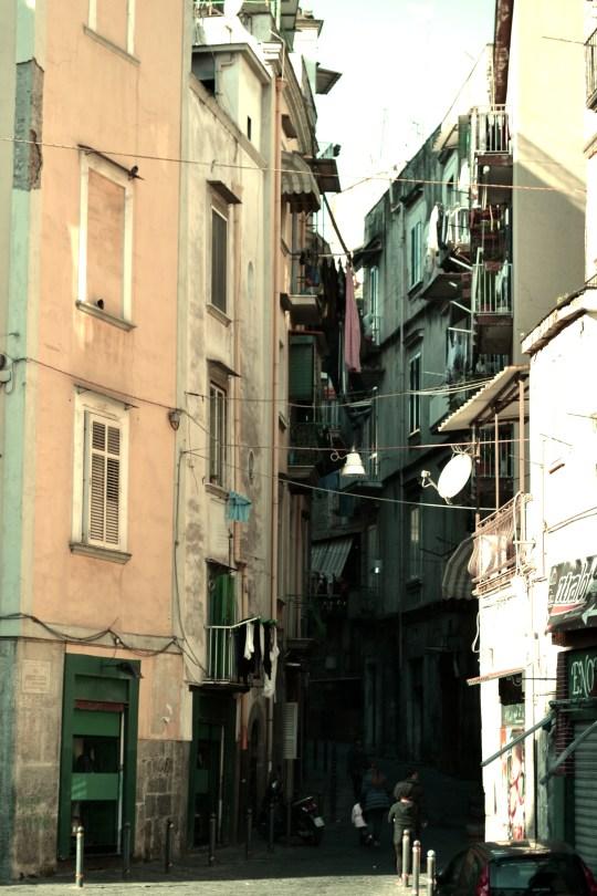 ITALIE - Naples - rue