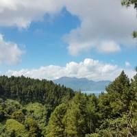 Une randonnée facile à Tahiti aux Jardins d'eau de Vaipahi.