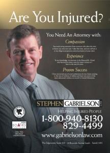 Stephen Gabrielson LTD ads