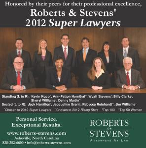 Robert & Stevens Attorney At Law ads