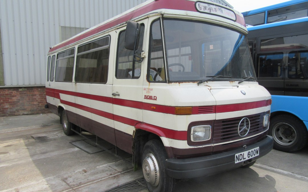 1981  Mercedes 508D Mini Coach NDL 600W
