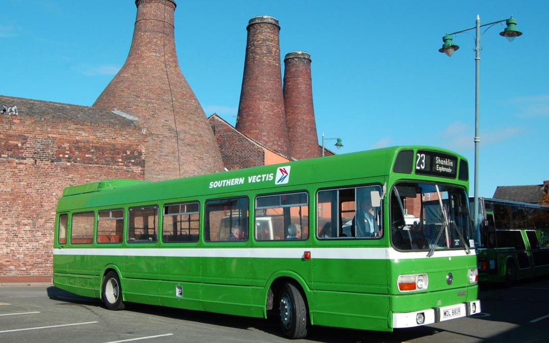 Ex-Southern Vectis Leyland National 880 (MDL880R) has been re-acquired by the Museum