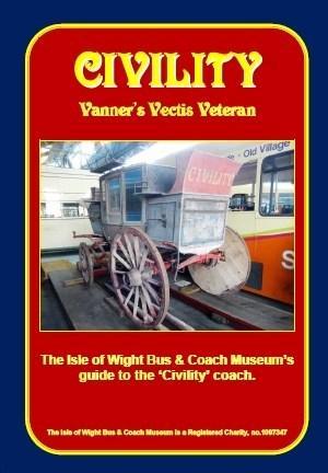 Civility-vanners vectis veteran Guide-Book isle of wight bus museum