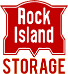 Infinite Web Development, Rock Island Storage Logo