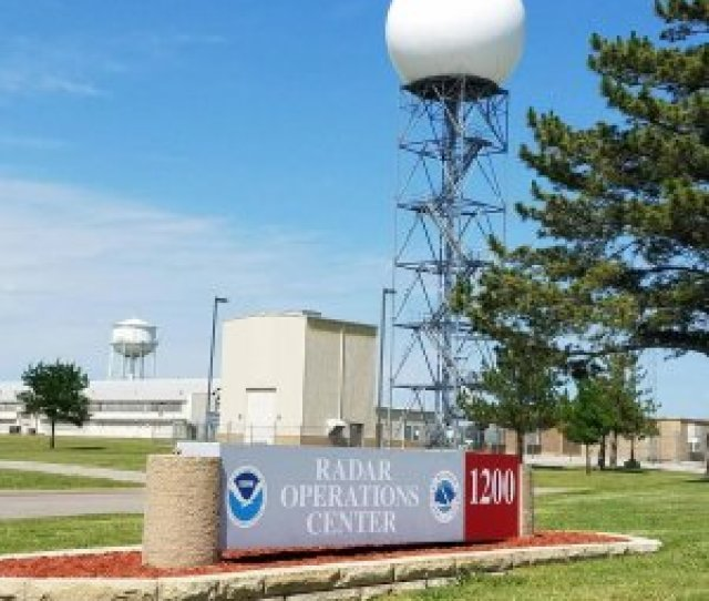Image Of The Koun Research Radar At The Noaa Radar Operations Center In Norman Oklahoma Image Credit Harrison Sincavage