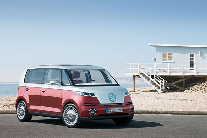 Iconic VW Microbus, Reimagined as an EV