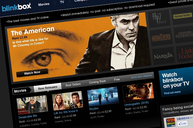 Tesco acquires movie-streaming service Blinkbox