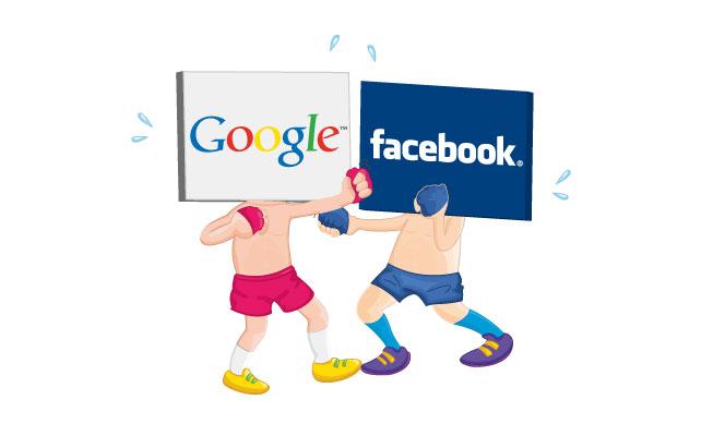 The Battle; Google vs Facebook
