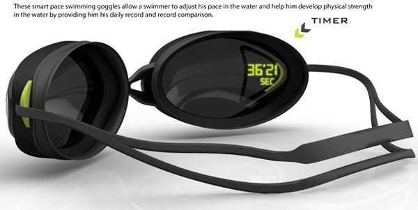 My Pace Goggle – Live Swimming Timer