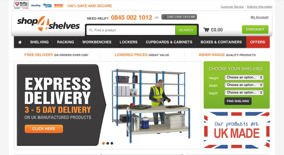 Magento ticks all the right boxes for storage solutions specialist