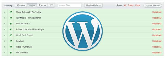 How to manage several WordPress sites