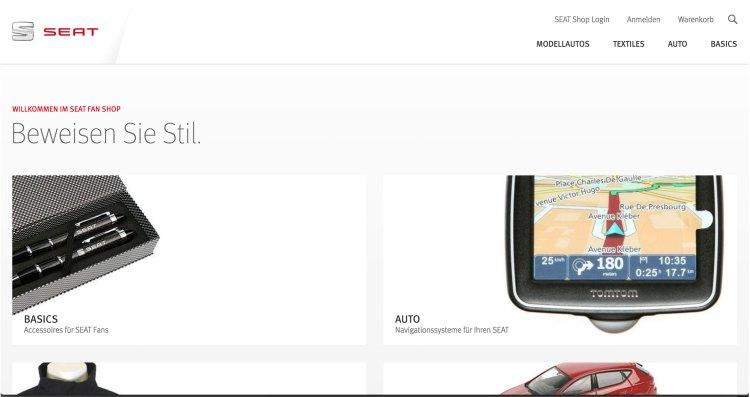 shopworld.seat.de | websites using Magento 2
