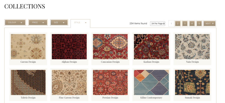 Button Design | Rugs of London