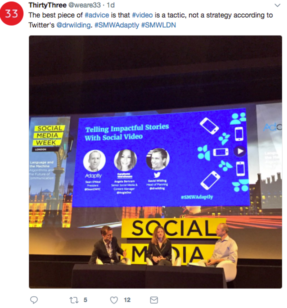 Social Media Week   Social Video   iWeb