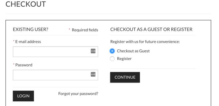Guest Checkout | Magento Checkout