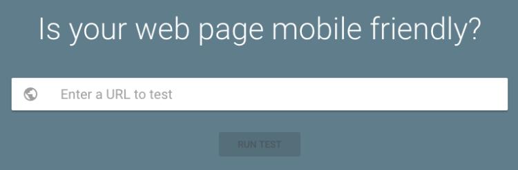 Mobile-Friendly Test Tool - iWeb