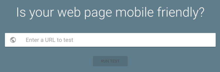 Mobile-Friendly Test Tool - iWeb