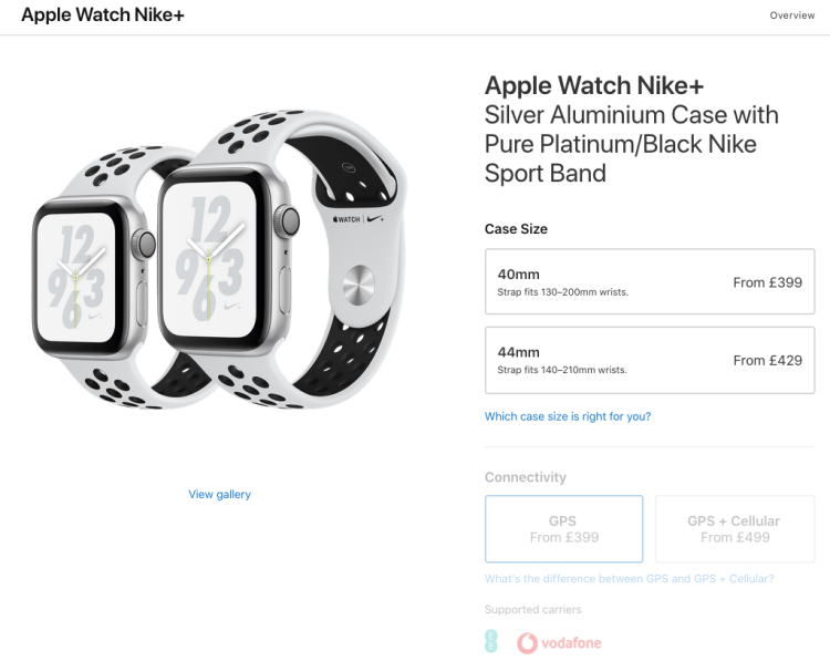 Apple Watch Nike+ | iWeb