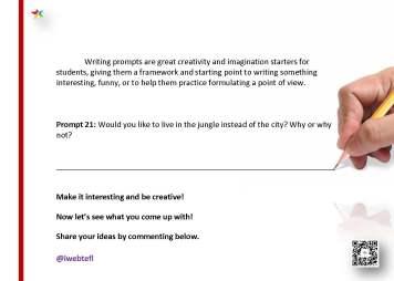 @iwebtefl Writing Prompts 21