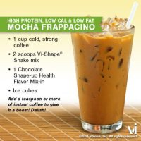 Body by Vi Shakes - The Mocha Frappacino Recipe