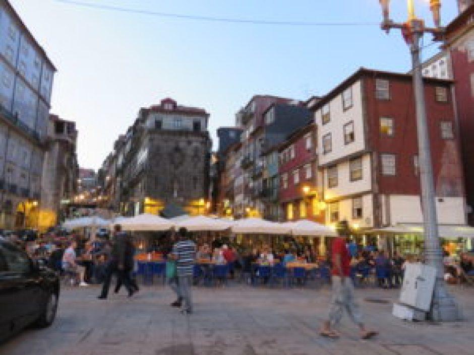 Quartier de la Rieira, Porto, Portugal