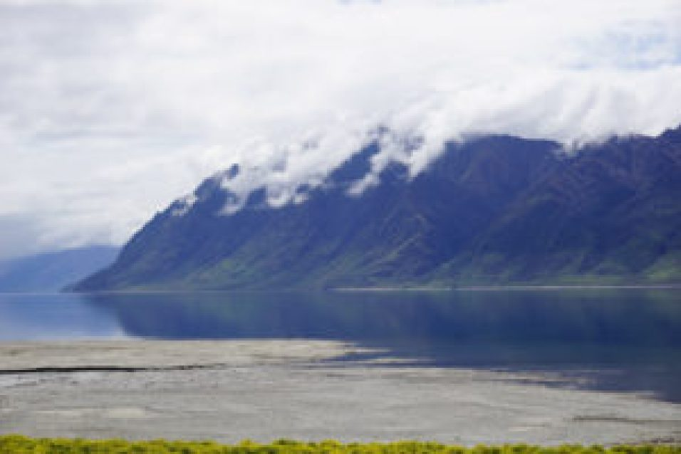 Quelques kilomètres avant d'arriver à Wanaka, le paysage est déjà si beau !