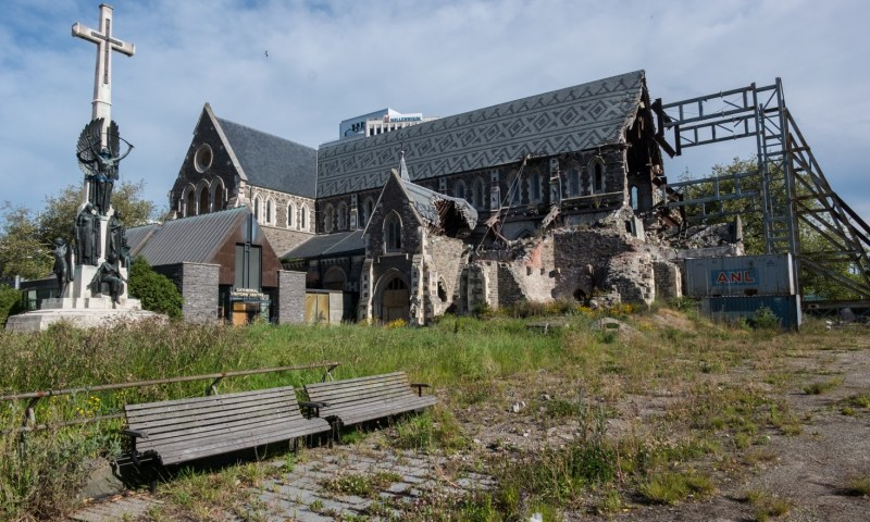 cathédrale christchurch tremblement de terre